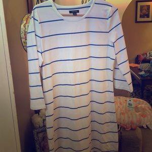 Nautica shirt dress